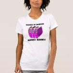women in binders against Romney T-shirt