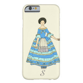 Women In Blue and Red Costumes Holding Hands Barely There iPhone 6 Case