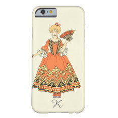 Women In Blue And Red Costumes Holding Hands Barely There Iphone 6 Case at Zazzle