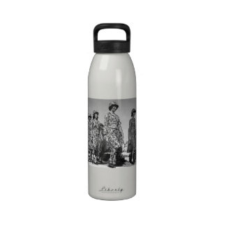 Women in Camo WWII Drinking Bottle