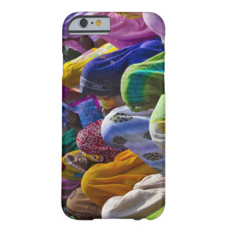 Women in colorful saris gather together barely there iPhone 6 case
