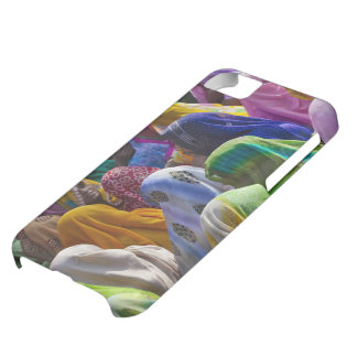 Women in colorful saris gather together iPhone 5C case