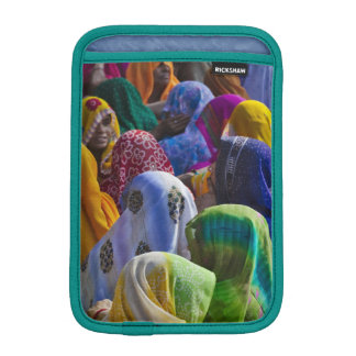 Women in colorful saris gather together sleeve for iPad mini