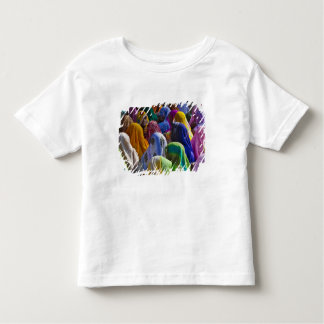 Women in colorful saris gather together toddler t-shirt