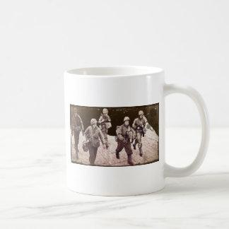 Women in Combat Gear WWII Coffee Mug