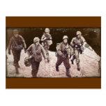 Women in Combat Gear WWII Postcard
