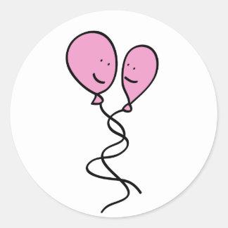 Women in Love Classic Round Sticker