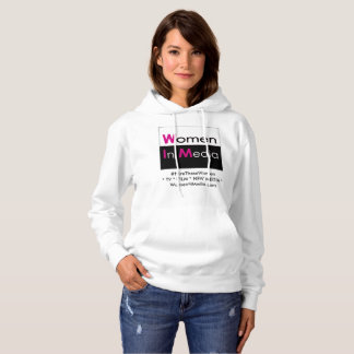 Women In Media Long Sleeve Sweat Shirt White