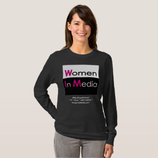 Women In Media Long Sleeve Tee Shirt