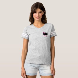 Women In Media Sporty Tee Shirt Grey