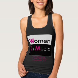 Women In Media Tank Black