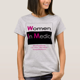 Women In Media Tee Shirt Grey