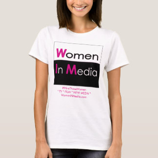 Women In Media Tee Shirt White