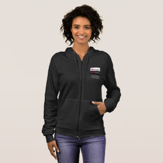 Women In Media Zippered Sweat Shirt Grey