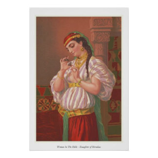 Women In The Bible - Daughter of Herodias Poster