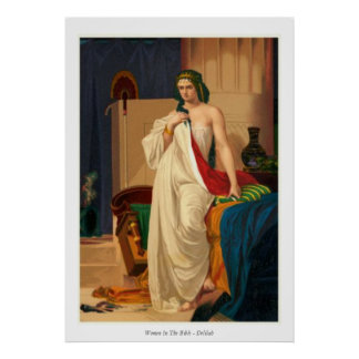 Women In The Bible - Delilah Poster