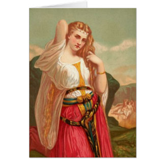 Women In The Bible - Jephthah's Daughter Card