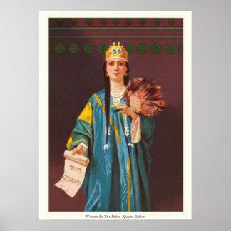 Women In The Bible - Queen Esther Print