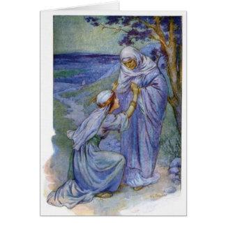 Women In The Bible - Ruth & Naomi Card