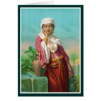 Women In The Bible - The Samaritan Woman Card