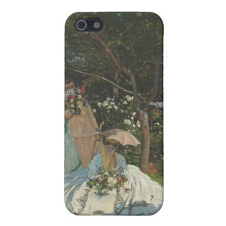 Women in the Garden (1866) Case For iPhone SE/5/5s