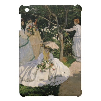 Women in the Garden, 1866 Cover For The iPad Mini