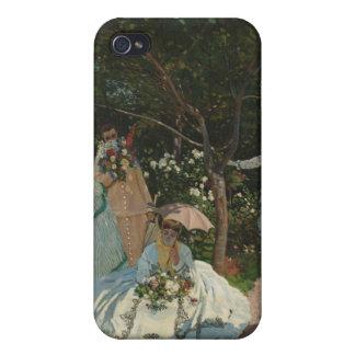 Women in the Garden - Claude Monet iPhone 4 Covers