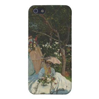 Women in the Garden - Claude Monet iPhone 5 Covers