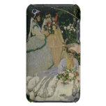 Women in the Garden, detail of a Seated Woman with Case-Mate iPod Touch Case