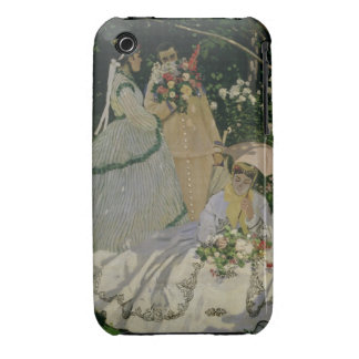 Women in the Garden, detail of a Seated Woman with Case-Mate iPhone 3 Cases