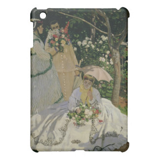 Women in the Garden, detail of a Seated Woman with Case For The iPad Mini