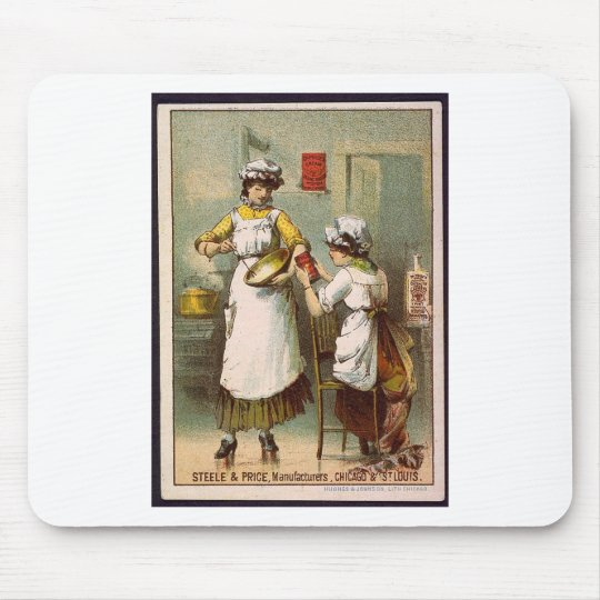 Women in the Kitchen Mouse Pad