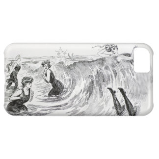 Women in the Sea - Vintage Art by Gibson iPhone 5C Cases