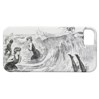 Women in the Sea - Vintage Art by Gibson iPhone 5 Cover
