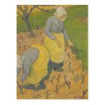 Women in the Vineyard, 1890 Postcard