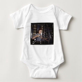 Women in the Workplace during WWII Baby Bodysuit