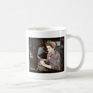Women in the Workplace during WWII Coffee Mug