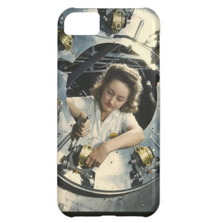 Women in the Workplace during WWII Cover For iPhone 5C