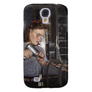 Women in the Workplace during WWII Galaxy S4 Cover