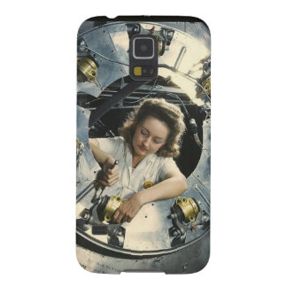 Women in the Workplace during WWII Galaxy S5 Case