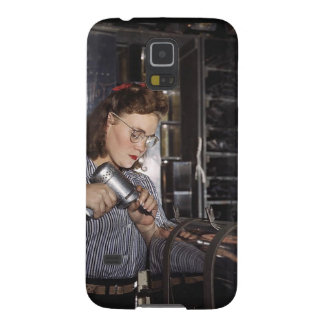 Women in the Workplace during WWII Galaxy S5 Cover