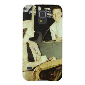 Women in the Workplace during WWII Galaxy S5 Covers