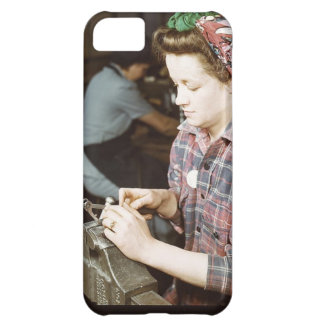 Women in the Workplace during WWII iPhone 5C Case