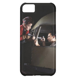 Women in the Workplace during WWII iPhone 5C Cover