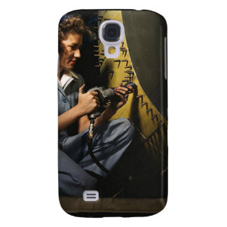 Women in the Workplace during WWII Samsung Galaxy S4 Cover