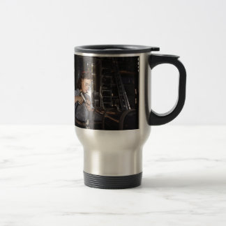 Women in the Workplace during WWII Travel Mug