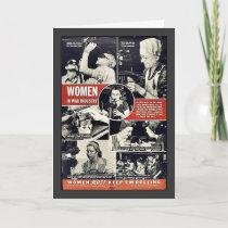 Women In War Industry Card