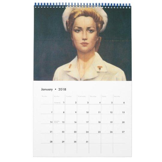 Women in War Poster Calendar 2012