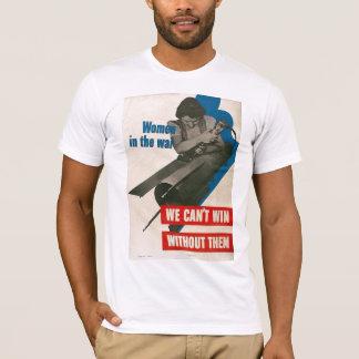 Women In War World War II T-Shirt