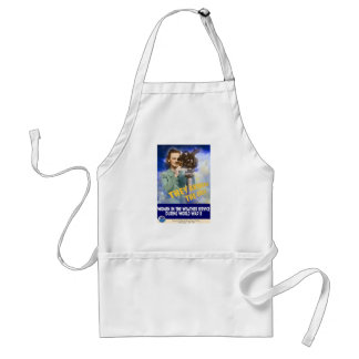 Women Joining the Weather Service WWII Adult Apron